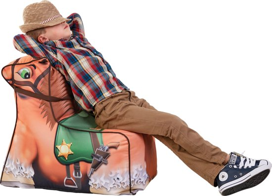 Zitzak Met Banden.Lay Z Kinder Zitzak Cowboy Paard