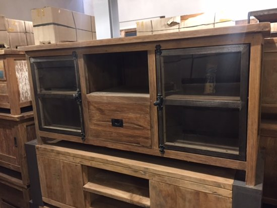 Industriele Tv Kast : Bol industriele tv meubel east west pintu besi dingklik