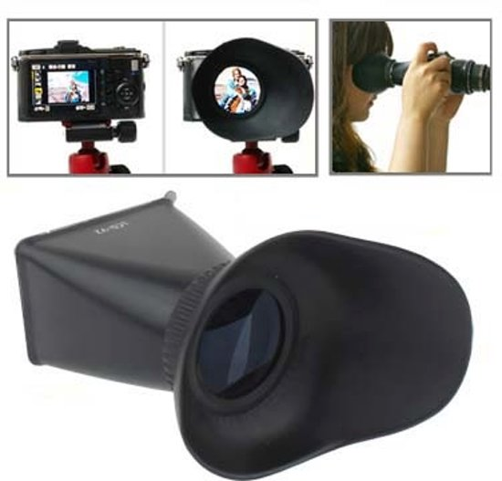 2.8x 3 inch lcd viewfinder voor canon 550d / nikon d90 (v2) in Isières