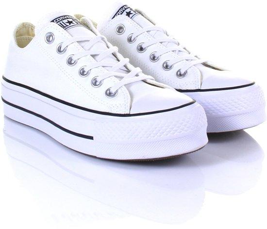 Blanc De Chaussures De Sport Converse De Boeuf De Levage De Couche » CBlS1