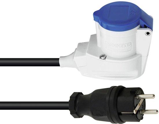PSSO Adapterkabel - Schuko (M) / CEE 2.5 90 °