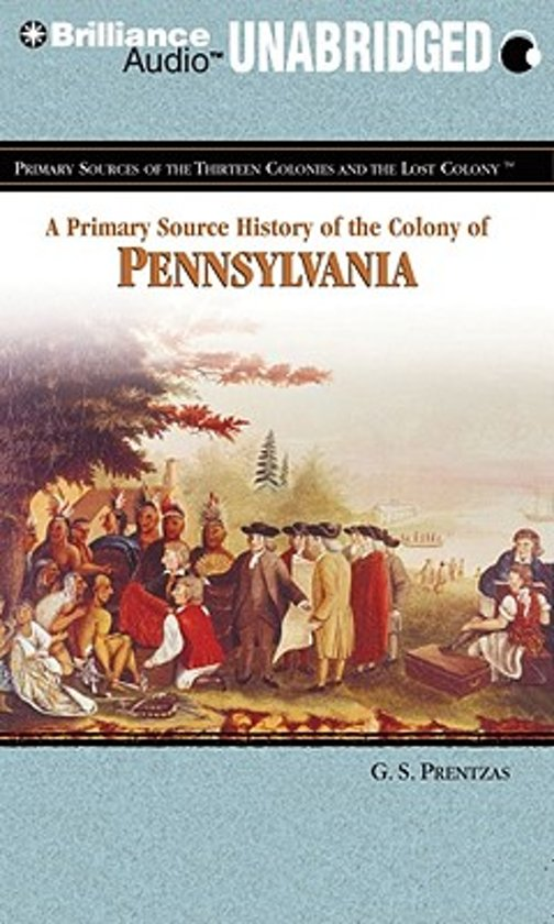 the history of pennsylvania as an english colony