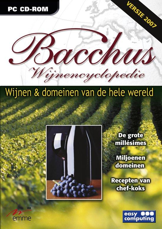 Bacchus 2007, Wijn Encyclopedie