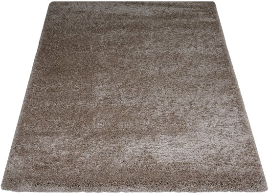 Vloerkleed Rome - 200 x 240 cm - Sand - Bruin