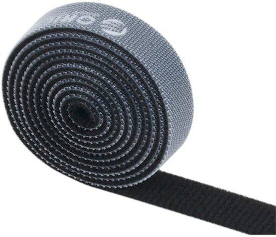 GadgetBay Universele duurzame zwarte kabelbinder cable organizer