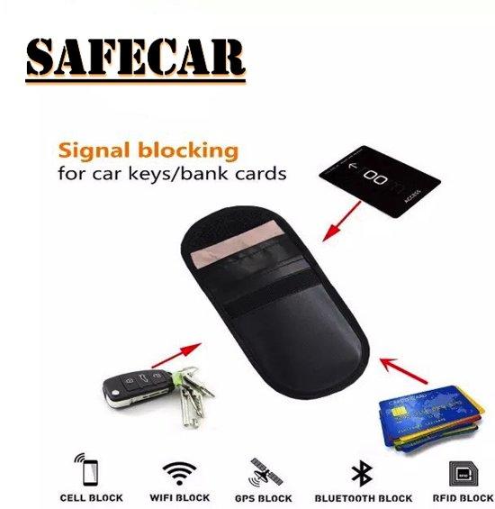 ccf9152fd05 Anti-Diefstal Hoesje (2 Pack) RFID Auto sleutel-Etui - Sleutelbeveiliging