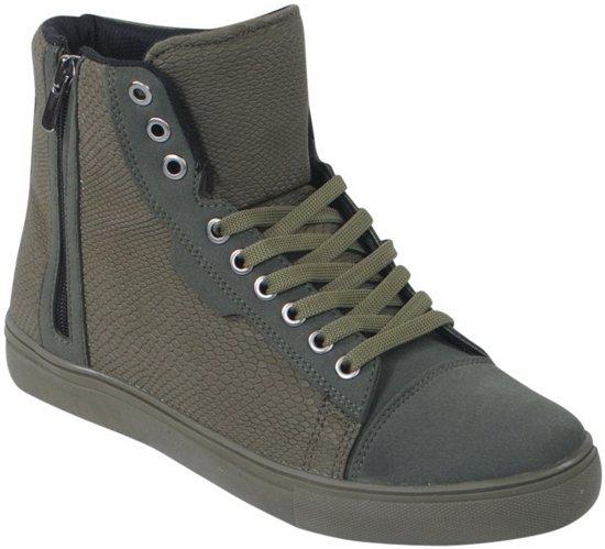 Suede Tamboga Hoge Army Sneaker Details Heren nwx17UqO1v