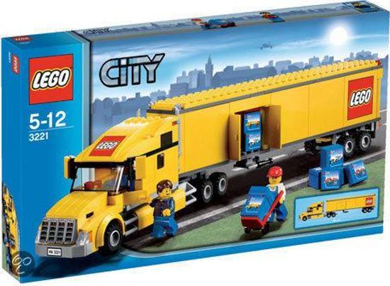 Verwonderlijk bol.com | LEGO City Vrachtwagen - 3221, LEGO | Speelgoed IG-51