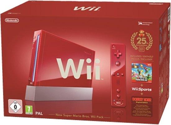 Nintendo Wii 25th Anniversary New Super Mario Voordeelbundel