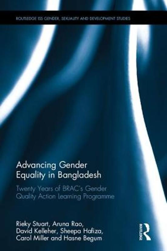 Advancing Gender Equality in Bangladesh