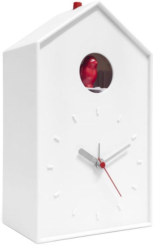 Balvi Cucu Koekoeksklok met Alarm - Wit/Rood