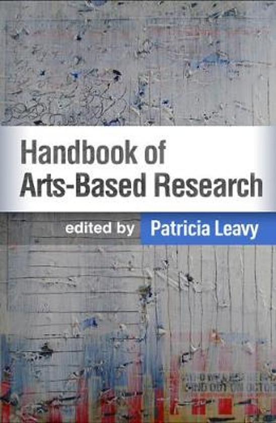 Boek cover Handbook of Arts-Based Research van  (Paperback)