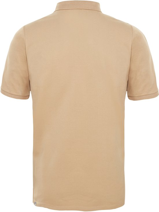 The Face North Tan Shirt Piquet Eu Kelp Heren Polo 1qS41