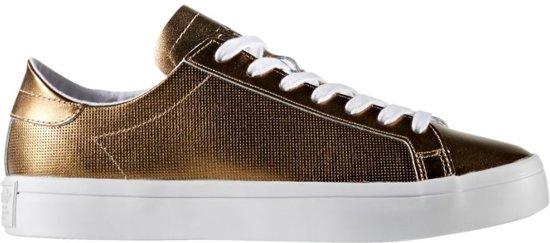 db83fe958d7 bol.com | Adidas Sneakers Court Vantage Dames Goud Maat 38 2/3