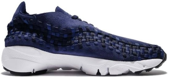 sports shoes 84598 a7b96 Nike Sneakers Air Footscape Woven Nm Heren Blauw Maat 40