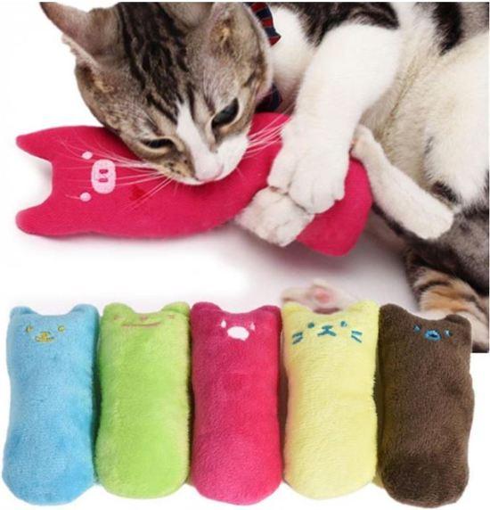 Catnip knuffeldier|Katten-speelgoed|Kattenkruid|Knuffeldier|Groen