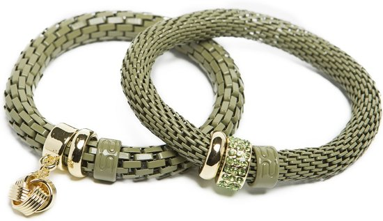 SILIS ARMBANDEN | DRIED HERB KNOT Ø8MM | THE SNAKE STRASS