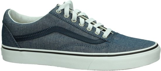250db4f10c Vans   Old Skool (C L) Chambray Blue   Sneakers   Volwassenen   Blauw