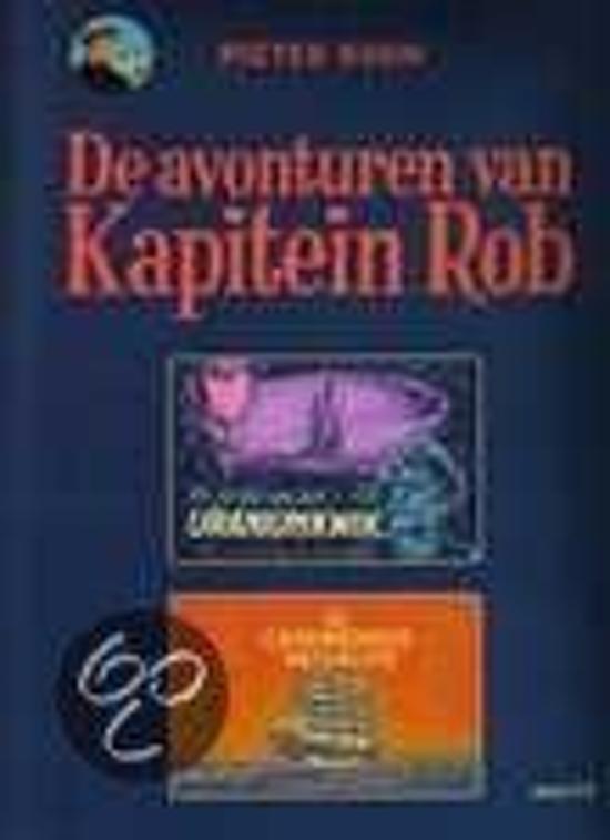 Boek cover Kapitein Rob van Dick Matena (Onbekend)
