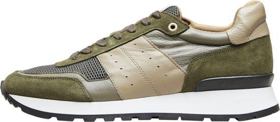 Maat Green Selected Sneakers Homme Heren 46 Olive qZvXXn