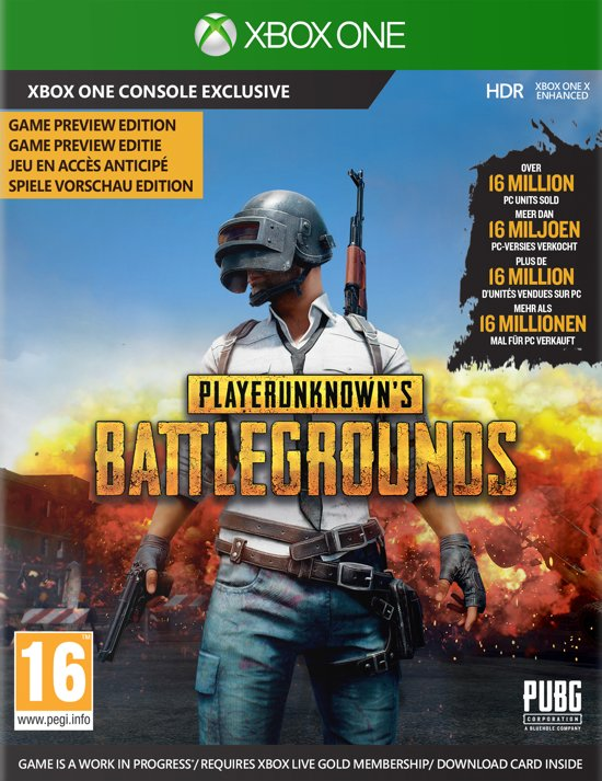 PlayerUnknown's Battlegrounds (PUBG) - Xbox One