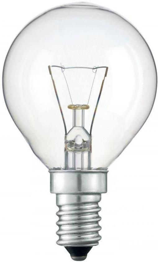 Kogellamp Gloeilamp - 25 Watt Helder E14 - (5 stuks)