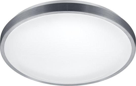Reality IZAR - Plafonnière - SMD - LED geïntegreerd - geborsteld aluminium Bewegingssensor