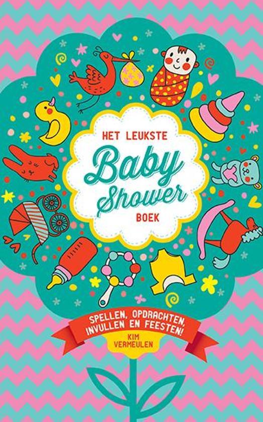 Boek cover Het leukste babyshowerboek van Kim Vermeulen (Paperback)