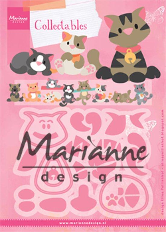 Afbeeldingsresultaat voor Marianne Design collectables kitten