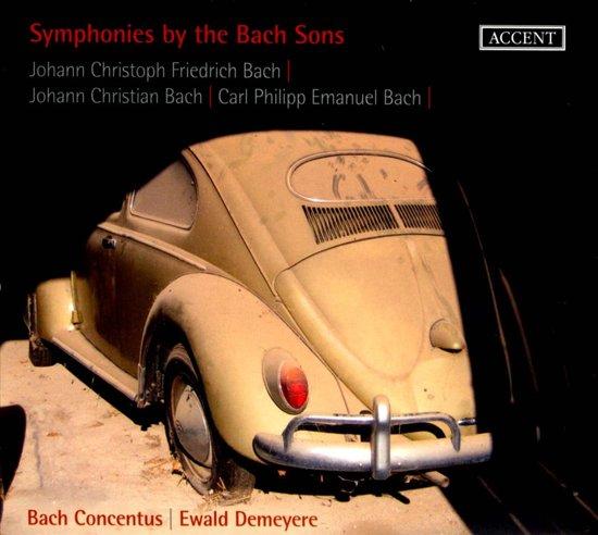Sinfonien Der Bach-Sohne