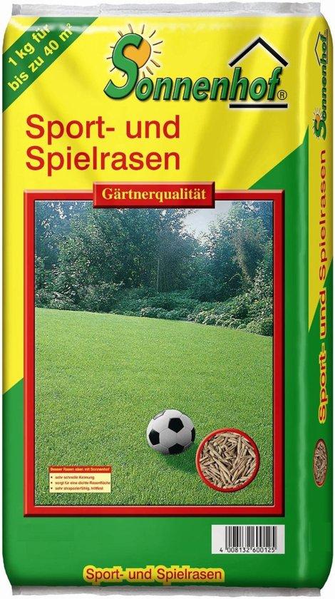Sonnenhof Graszaad voor Sport en Speel gazon 1kg voor 40m²