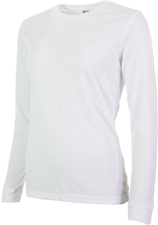 Campri Thermoshirt lange mouw - Sportshirt - Dames - Maat L - Wit