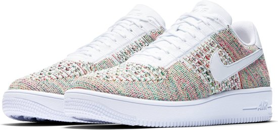 Nike Air Force 1 Ultra Flyknit Low - Sneakers - Unisex - 817419-701 - Maat 43 - Multi