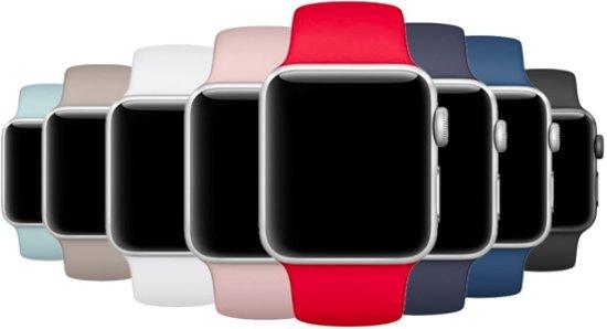 Multicolour Siliconen Bandjes geschikt voor Apple Watch 38mm