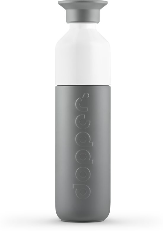 Dopper Insulated Thermosfles - 350 ml - Glacier Grey (Grijs)