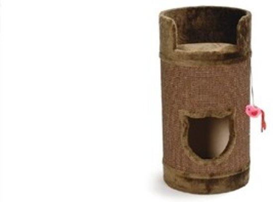 Beeztees Bruno - Krabton - Bruin - 38x38x75 cm