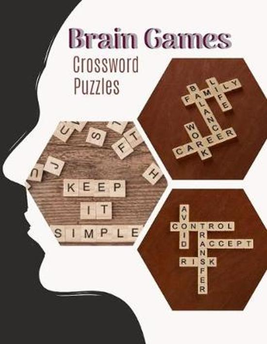 Brain Games Crossword Puzzles: Good Times! Easy Puzzles & Brain Games, Clever Crossword Puzzles That Only Seniors Can Solve, Includes Word Searches