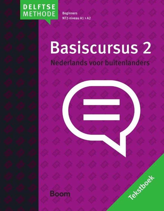 De Delftse methode Basiscursus Nederlands voor buitenlanders 2 beginners NT2 niveau A1 A2