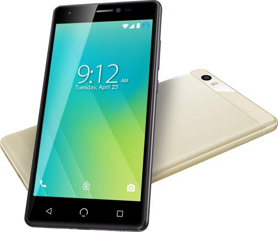 "5"" Nuu Mobile M2 Dual-sim 16gb Gold Android™ 7.0 Nougat"