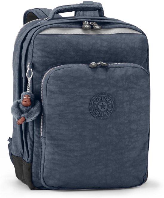 c41766f8800 bol.com | Kipling College - Laptop Rugzak - True Blue
