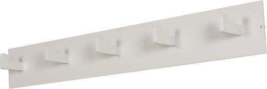 Spinder Design Leatherman - Kapstok met 5 Haken - Wit