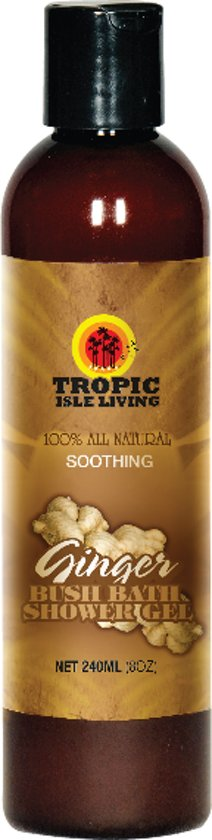 Tropic Isle Living Ginger Bush Bath and Shower Gel 237ml
