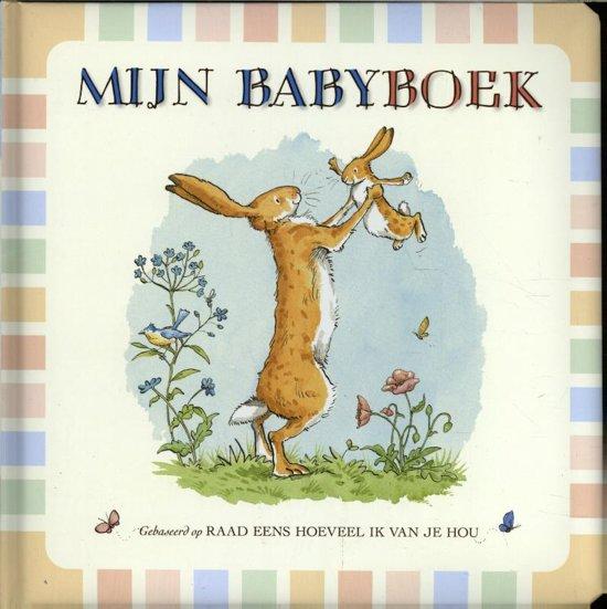 Boek cover Mijn babyboek van Sam McBratney (Hardcover)