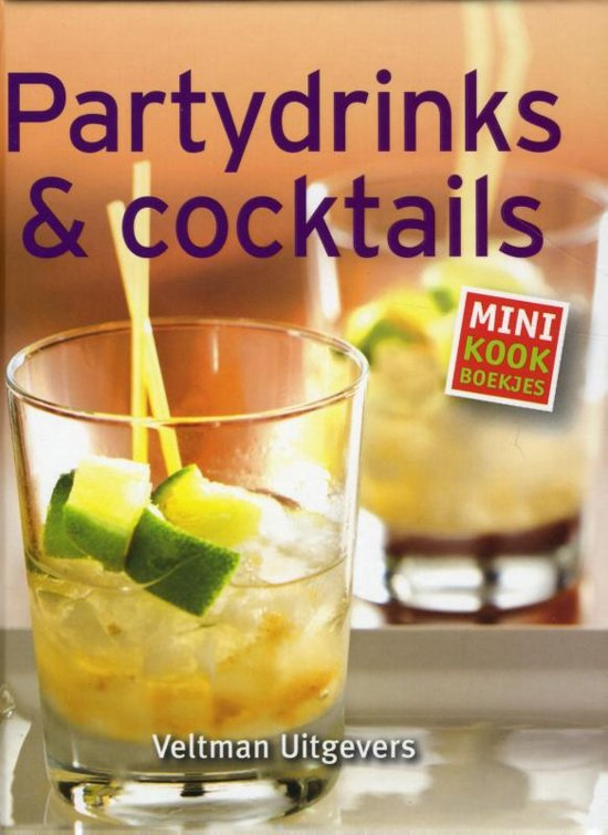 Mini kookboekjes - Partydrinks & cocktails