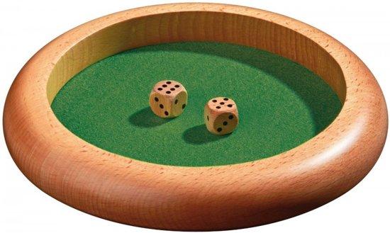 Afbeelding van het spel Philos dobbelpiste hout 220mm