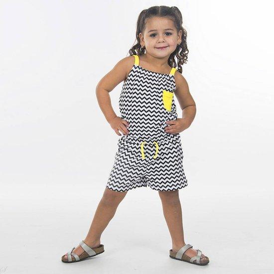goedkoop te koop nieuwe levensstijl Discover bol.com   Blue Seven - Jumpsuit Graphics wit - Maat 104