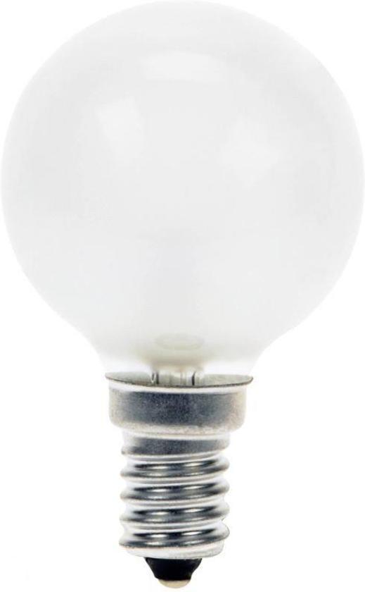 Kogellamp Gloeilamp 40 Watt Mat E14 (5 stuks)