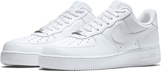 new arrival ffafe 6685d Nike Air Force 1  07 - Sneakers - Wit - Heren - Maat 40