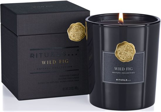 RITUALS Wild Fig Scented Candle Luxe Geurkaars - 360 gr