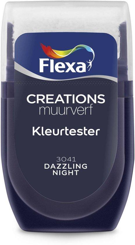 Flexa Creations Muurverf Tester 3041 Dazzling Night 30ml